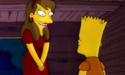 Laura Powers Bart Simpson