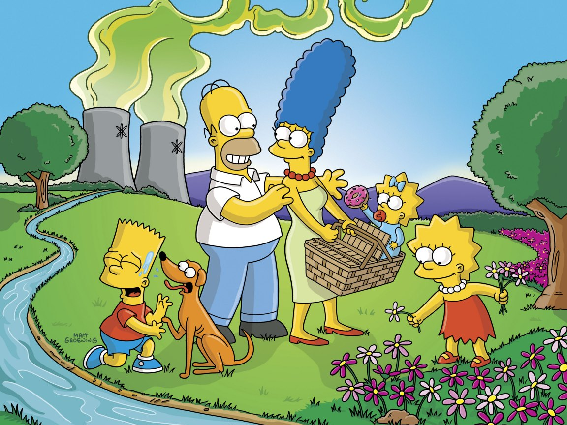 Last Exit To Springfield Simpsons Wallpaper