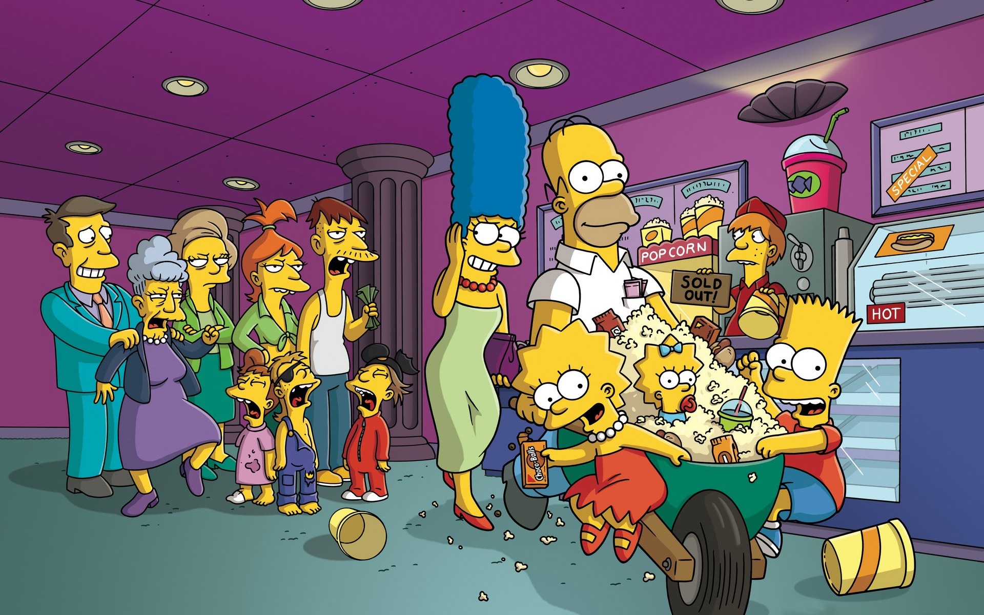 wallpapers  hd de los simpsons (